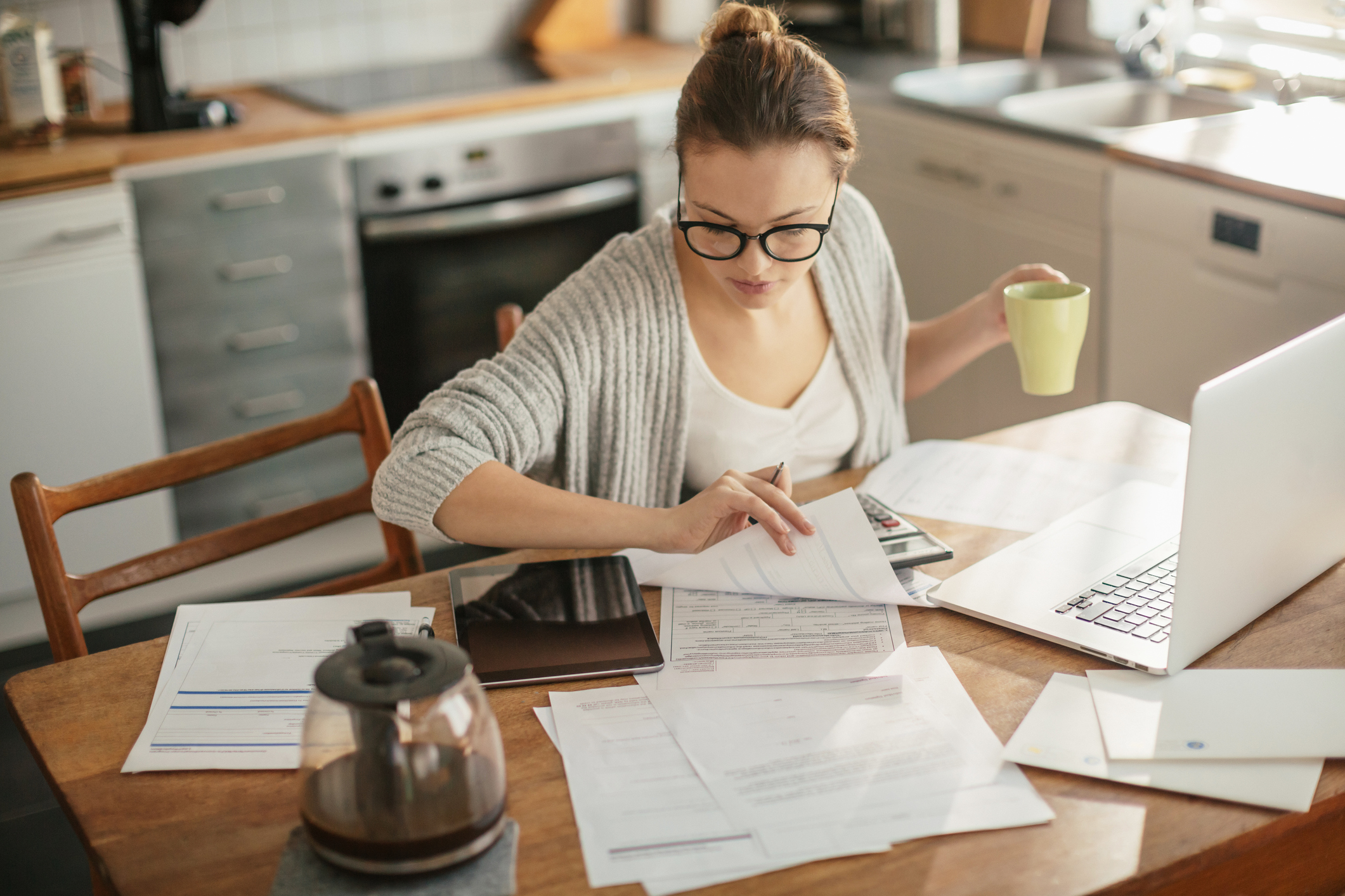 A Woman's Work Is Never Done – Especially Credit and Finances
